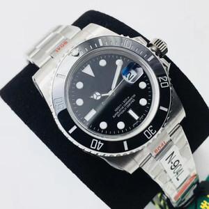 N 3A + de alta qualidade automática relógio mecânico dos homens esporte safira espelho mais recente V10 versão eta3135.eta2836 citizen8200 100m impermeável