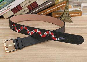 2020 Hot sale men designer belts High Quality Belts Fashion animal pattern buckle belt womens belt not with box free shipping