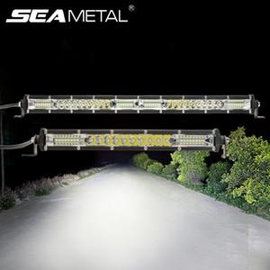 12V-24V luci diurne 10 20 pollici del lavoro della luce del LED Bar Combo di inondazione del punto Day Light Trucks per la guida del trattore