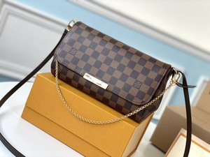 LOU1S VU1TTON M40718 chain Genuine leather women twist handbag messenger shoulder bag pockets Totes Shopping bags Backpack Key Wallets