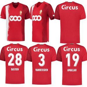 20 21 maillots de football Standard Liège Accueil Limbombe 2021 2020 R.STANDARD de Liège VANHEUSDEN LAIFIS CIMIROT EMOND Carcela chemises de football
