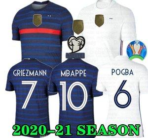2 star 2020 France MBAPPE GRIEZMANN POGBA jerseys 2021 Soccer jersey Football shirts maillot de foot