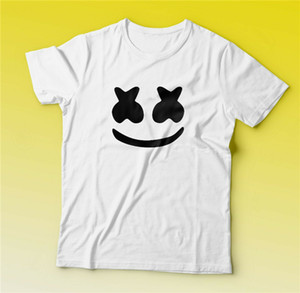 Marshmallow Head T-Shirt Dj Marshmallow Shirt Fast Free Shipping Slim Fit Tee Shirt