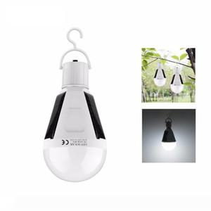 Upgrate Портативный E27 перезаряжаемые светодиодный солнечный светильник 7W 12W 85V-265V Smart Power Отключения аварийного лампа с выключателем для кемпинга Рыбалка