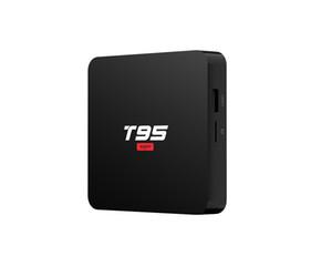 Android 10 TV Box T95 Süper Akıllı Android TV Box Allwinner H3 GPU G31 2GB 16GB 2.4G WiFi HD OTT Media Player