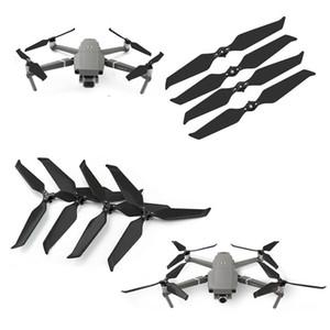 Amera Drones Accesorios hélice 4PCS fibra de carbono plegable de liberación rápida 8743 del propulsor por DJI Mavic 2 Pro Ampliar Drone Ruido Rojo ...