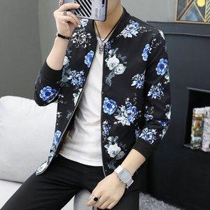 Vestes pour hommes Erkek Mont Coréen Veste Hommes Camouflage Imprimerie Bombardier Jauquetta Masculino Chaquetta Hombre Ropa para