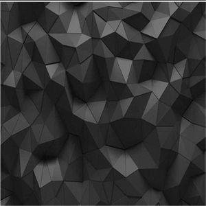Basit Siyah Geometrik Duvar Katı Koltuk Tv Arkaplan Duvar # bext Stereoskopik Wallpaper I Hd Duvar ben Hd Wallpaper 3D