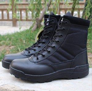 Outdoor-High-Top-Kampf-Wüste Tactical War Krieg Stiefel Stiefel Sicherheitstrainingsschuhe Offroad-Wanderschuhe Männer Frauen