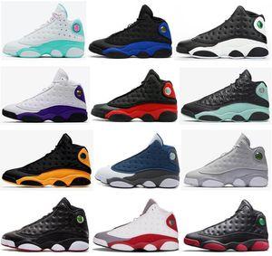 2020 13s Reverse Он доигрались Мело Класс 2002 Баскетбол обувь Мужчины 13 Playoffs Волк Серый Toe Gym красный кроссовки с коробкой