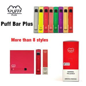 Puff Bar Plus 800 puffs Disposable Vape Pen Device 550mAh Battery 3.2ml Pods e Cigs Portable Vaporizer Device