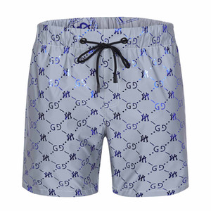 Hot sale Wholesale Summer Fashion Shorts New designer Board short Quick Drying SwimWear Printing Board Beach Pants Men Mens Swim Shorts