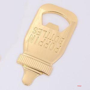 تغذية شكل زجاجة البيرة فتاحة الإبداعية الممرض زجاجة زجاجات المطبخ بار الفتاحات الطفل الفتاحات حفل زفاف الحسنات هدايا BH3191 DBC