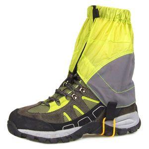 1 زوج في الهواء الطلق أحذية المشي لمسافات طويلة واقية غطاء المشي لمسافات طويلة سيرا على الأقدام للتزلج على الجليد للماء الغطاء الواقي السلامة الرياضة