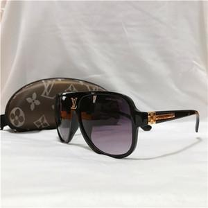 Moda Lv di design di lusso degli occhiali da sole delle donne degli uomini degli occhiali da sole di guida spiaggia Holiday Occhiali da sole Louis Vuitton 1258