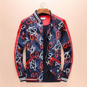 Новая осень зима новый Мужская Цвет Camo сращивания куртки вскользь куртка Tops печати Camo Сыпучие любовника