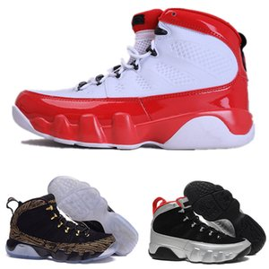 2019 New Arrival Jumpman 9s Basketball Shoes mens 9 XI Gold Championship MVP Finals sneakers fashion trainers sports running Shoes Size 7-13