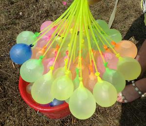 Ballons d'été Eau Bombes Magie de l'eau d'été rempli d'eau Ballon 2020 Enfants Jardin plein air jouer dans l'eau Toys Expédition gratuite