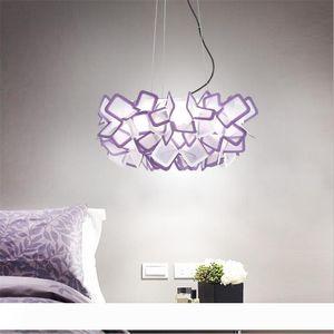 Nordic Designer Flowers Led Ceiling Lights Lustre Colorful Acrylic Bedroom Led Pendant Lamp Led Ceiling Lighting Lighting Fixtures