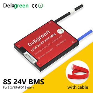 Consumer Electronics Deligreen 8S 24V 15 20 30 40 50A 60A BMS para o lítio LiNCM LiFePO4 bateria