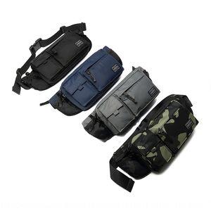 6uBCK Yoshida porter épaule poitrine fonction sac à dos bandoulière nylon imperméable à double usage de vélos épaule sac en cours d'exécution en cours d'exécution taille cyc