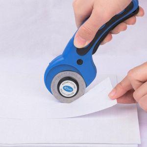 Döner 45mm Kesici Yedek Bıçaklar Fit Koltuk Döner Kesici Kumaş Kağıt Dairesel Yüksek Kalite 0Ug1 # Patchwork Craft Deri Cutting Tools