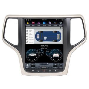 FREESHIPPING الروبوت 9 Carplay DSP لجيب غراند شيروكي 2014-2018 عمودي تسلا IPS شاشة سيارة الوسائط المتعددة لاعب ستيريو GPS للملاحة