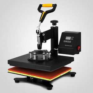"""360 Derece Tişört Isı Basın Sublime Transfer Makinesi 12"""" x 10"""" Dışarıda Salıncak Sıcak Baskı Makinesi"""