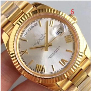 20020 hot new Good Quality Top Watches 40mm Brands Mens Watch Men Automatic Menchanical Movement Sapphire Glass With Green