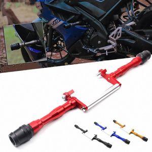 Quadro OLPAY motocicleta CNC leftright Motor Slider Bater Pad Fairing Guarda Slider Protector Para YZF R15 YZF R15 V3 17 19 Chinese Parte 1Xqo #