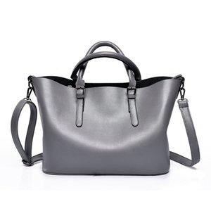 designer crossbody bag Leather Handbag Women Pearly Lustre Tote bag For Ladies handbags borse Female Large-capacity Shoulder bag