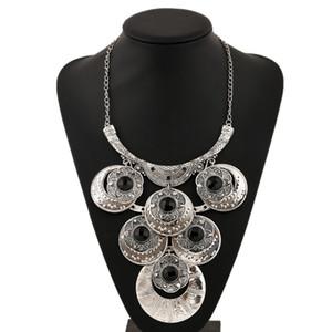 Collana donne LZHLQ 2020 di marca di modo di Boho collare Etnica Collana del choker dell'annata Gypsy Maxi Statement