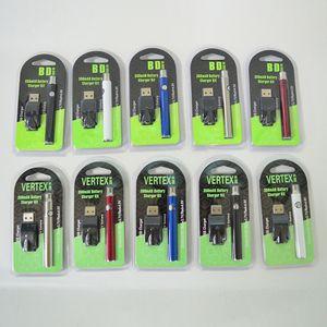 Аккумуляторы Vertex 510 резьбовой батареи Vape, предварительно нагревая ваап Батарея батареи 350 мАч переменное напряжение 510 батарея картриджей для густой массы Vape Cart