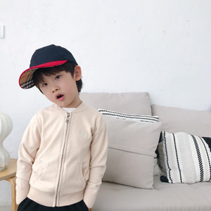 3 Colors Baby Boys Girls Sweater Jacket New Autumn Winter warm Knitted Sweater Kids Boy Zipper Knitwear Clothes