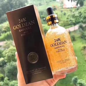 Os mais recentes Maquiagem Skinature 24k Goldzan Ampola ouro Cremes Hidratantes Dia Dourado Essência Soro Primer 100ml