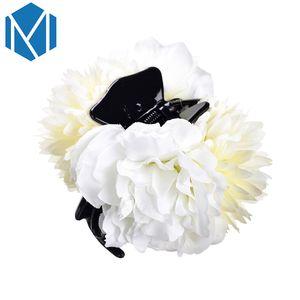 M MISM 2020 New Girls Flower Barrettes cheveux pour les femmes Barrette Bride Chapeaux Accessoires de cheveux Clips de mariage Outils