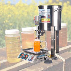 2020 son en çok satan ev otomatik küçük bal dolum makinası sıvı kantitatif dolum makinası 5kg / dk