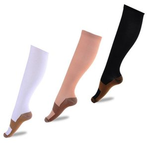 Wholesale Nylon Pressure Sports Socks Compres Long Stockings For Women Autumn Home And Outdoor Useful 2 9ys H1