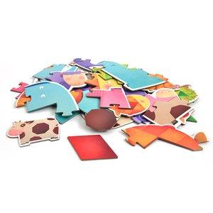 MiDeer 퍼즐 어린이 퍼즐 교육 장난감 어린이 장난감 교육 종이 완구 어린이 선물 3 세 CX200711에 대한