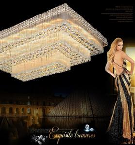 الصمام الثريات سقف اسعار المصنع الفاخرة النبيلة رائع الراقية الكريستال K9 فندق الثريا الدرج قاعة فيلا الثريات أدى أضواء