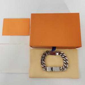 venda quente Qualidade dos homens pulseira de aço e mulheres Bracelet Cadeia Moda Personalidade Hip-hop pulseira de alimentação