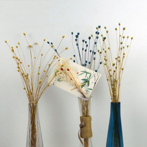 50 ينبع المجففة النباتات زهور سعيد زهرة الطبيعية باقة الزهور الديكور للمنزل حفل زفاف مهرجان الديكور لوازم 7JLr #