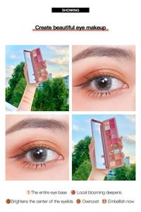 Pudaier 18 Colors Pearl Pigment Eye Shadow Makeup Palette Summer Fresh Glitter Shimmer Matte Eyeshadow Palette