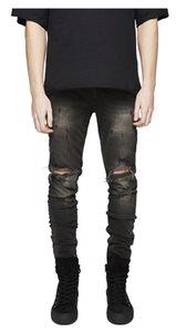Casual Mens Jeans Pants Fashion Streetwear Pants 20s New Stylish Designer Men Jeans 3 Colors Male Clothing Size 28-36