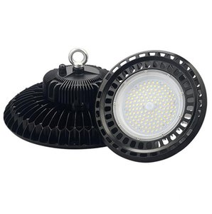 Meanwell driver 100W 150W 200W UFO LED High bay light 120lm W super bright warehouse exhibition lighting Lamp 5 years Warranty