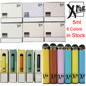 Xtra Starter Kit monouso Vape Pen 5ml Pods 650mAh Batteria scarica dispositivo Kit ecigs con Nuovo Packaging Box vaporizzatore Penne