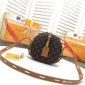 LoVuitto designer FlorentineeBoite Chapeaut Souplee Monogram Handbag M52294 Shoulder Round Bag Monogram Size: 20x 22.5x 8 cm