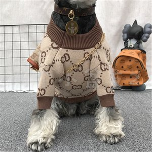 2020 Fashion Casual Dog Sweater Coat High Quality Personality Pet Coat Christmas Day Gift Warm Letter Pattern Clothing