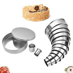 Stainless Steel Round Cookie Biscuit Cutter Molds Kit 14Pcs For Muffins Crumpets Assorted Size