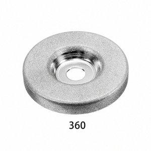 1шт 56мм 180/360 Grit алмазный шлифовальный круг Grinder камень точилка Угол резки колеса Роторный инструмент BJW7 #